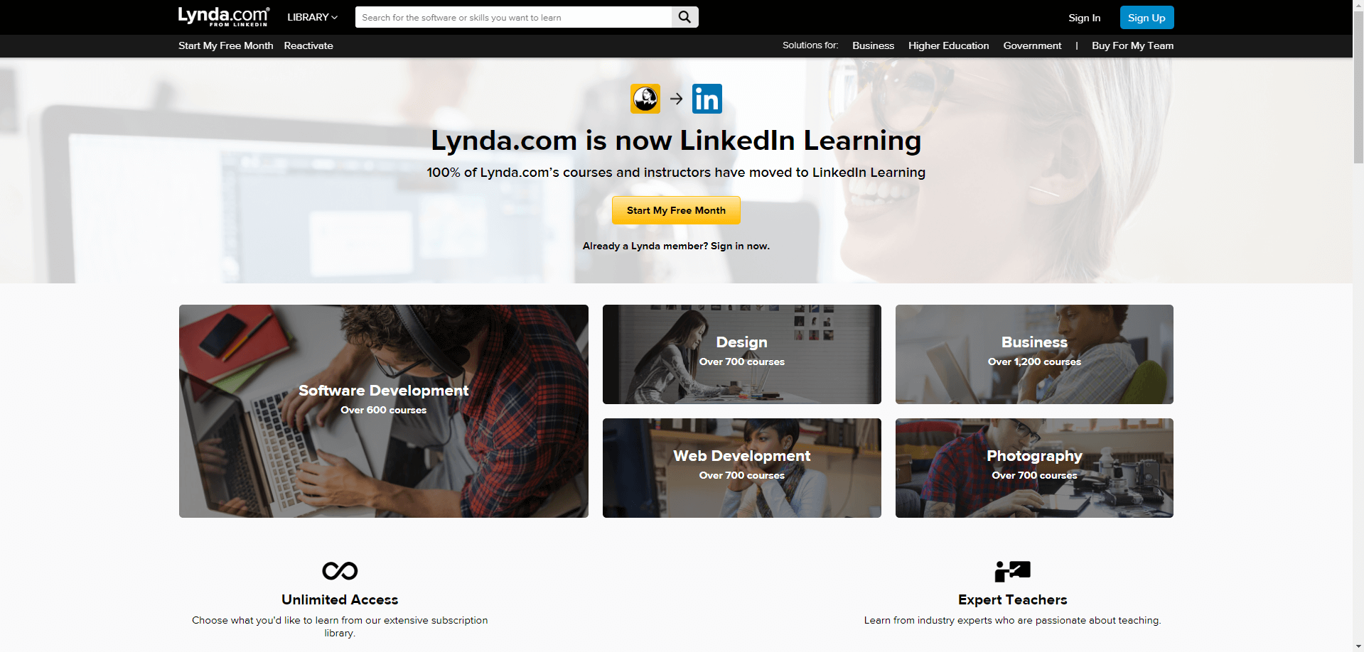 how to get Lynda for free