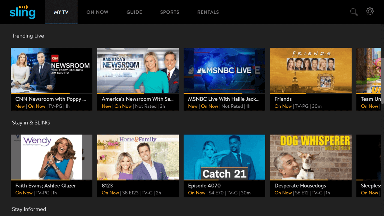how to get Sling TV for free